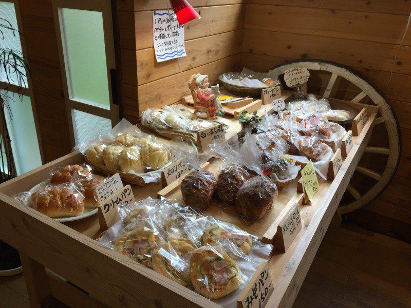 天然房もっぱんのパンの一部