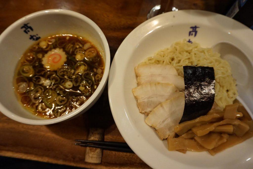 高松食堂つけ麺
