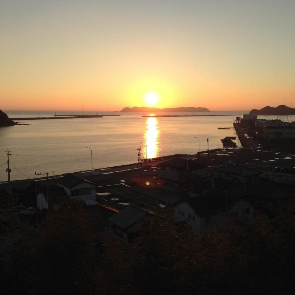 サンセット牛深から見える夕日