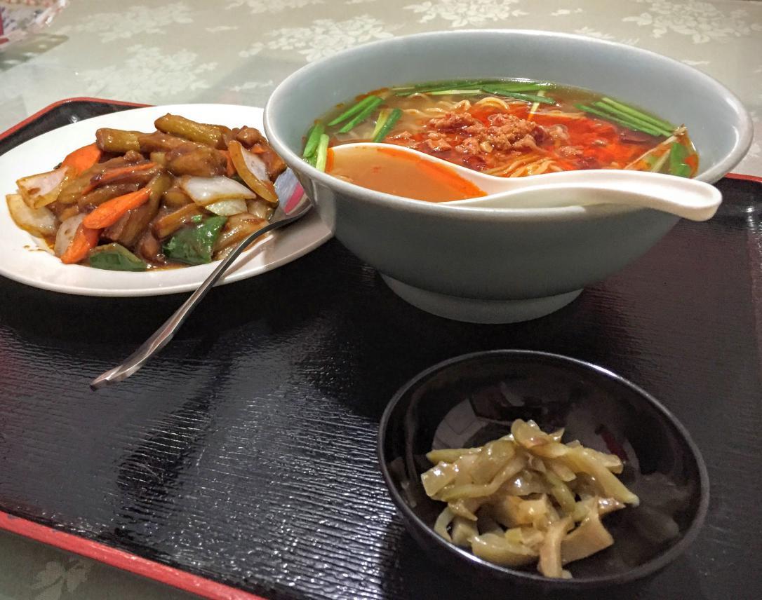 栄昌縁麻婆茄子定食