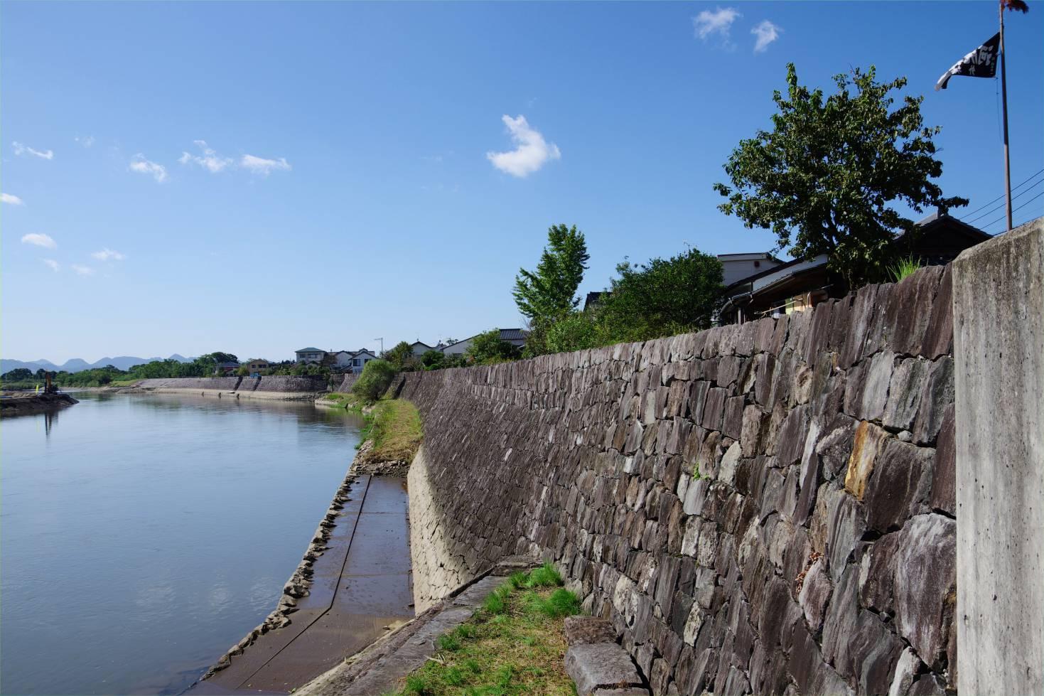 川尻の船着き場跡