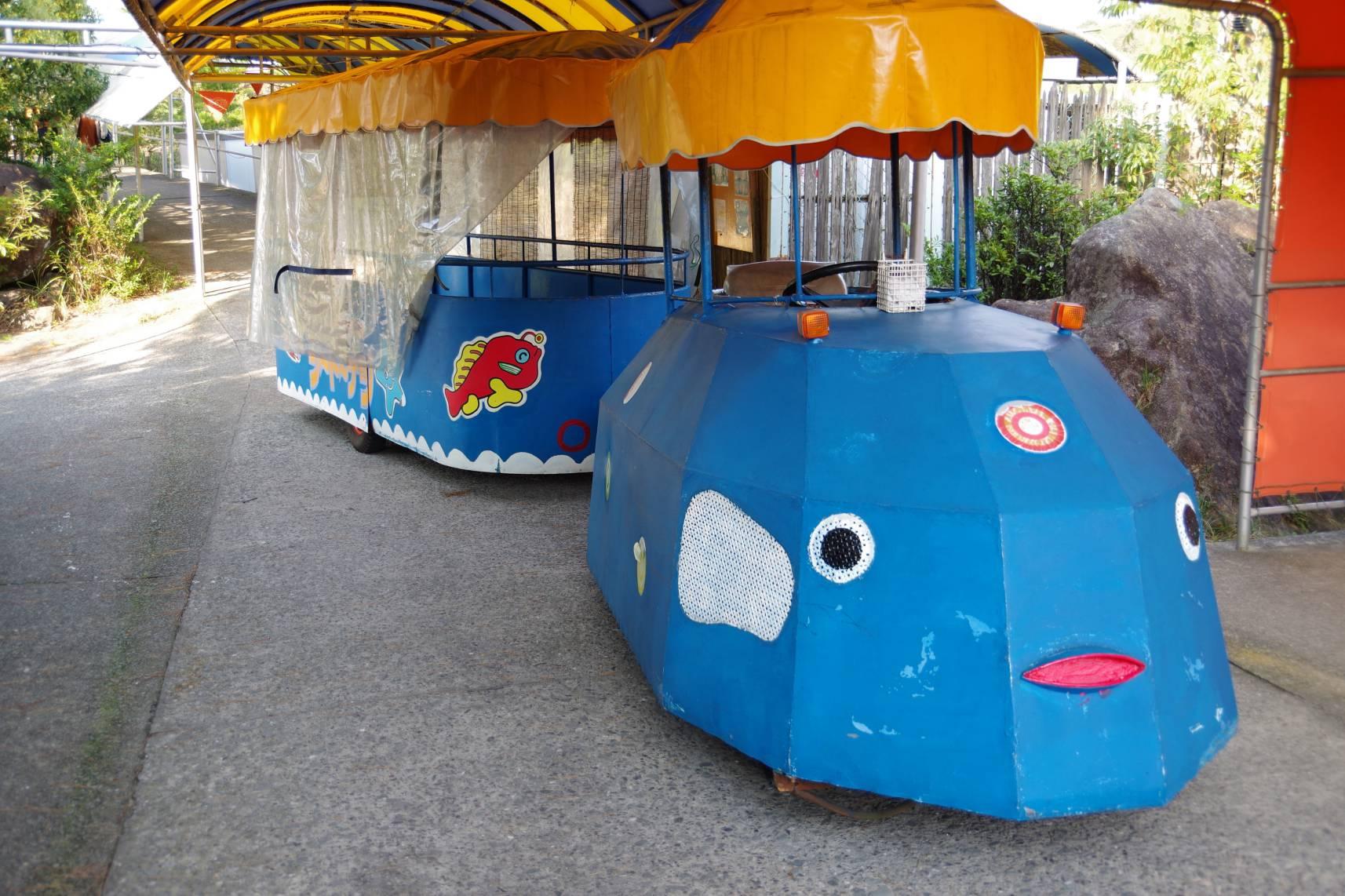 海中水族館シードーナツのふぐちゃん号