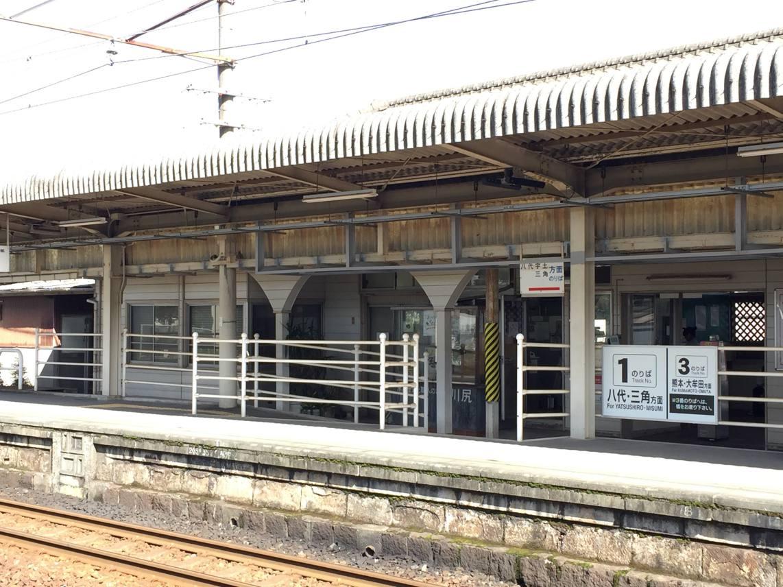 川尻駅のホーム