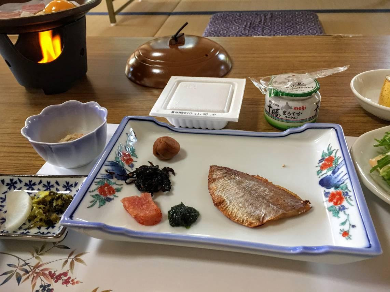 天風庵ピープルの朝食