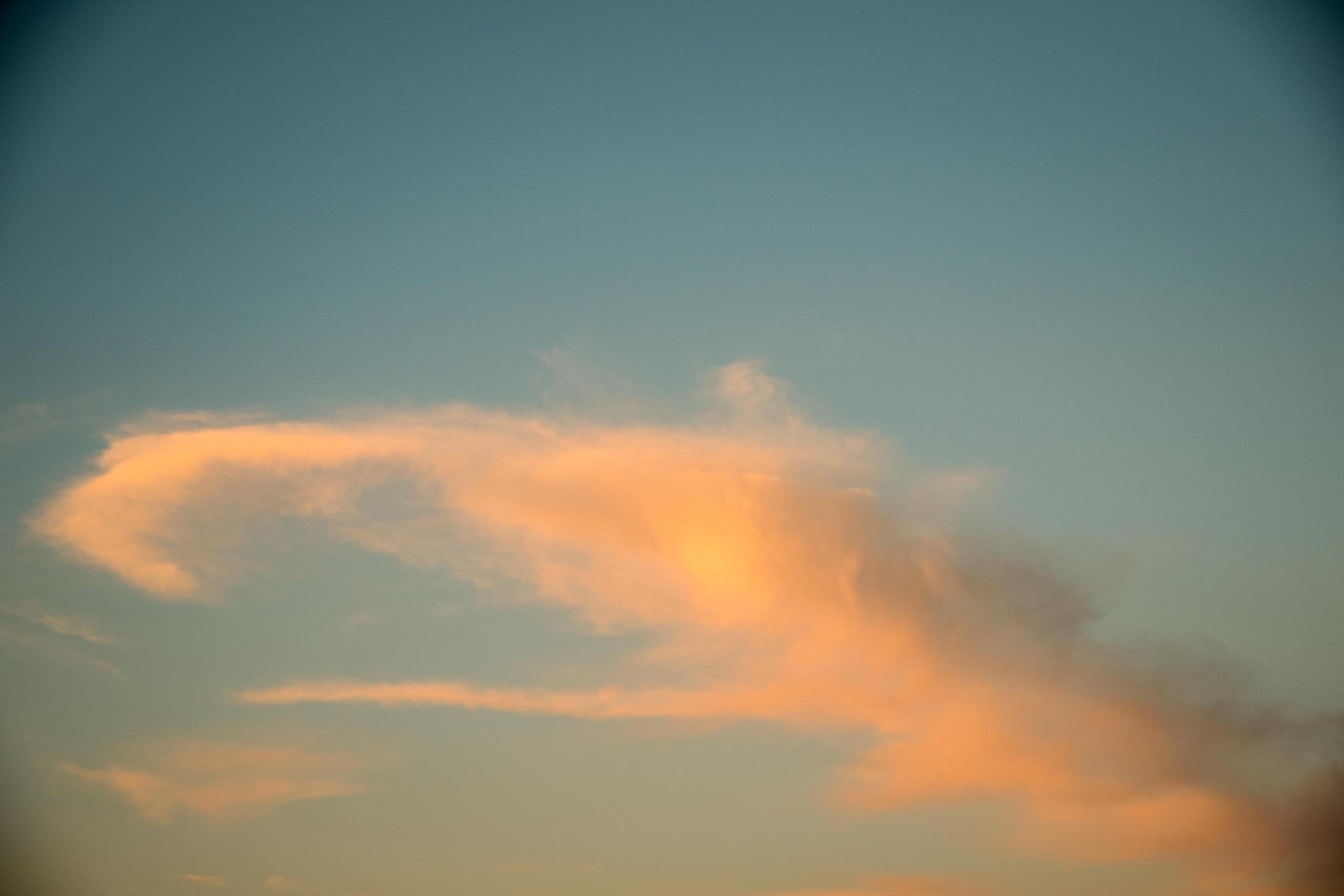 宮津海遊公園から見た空