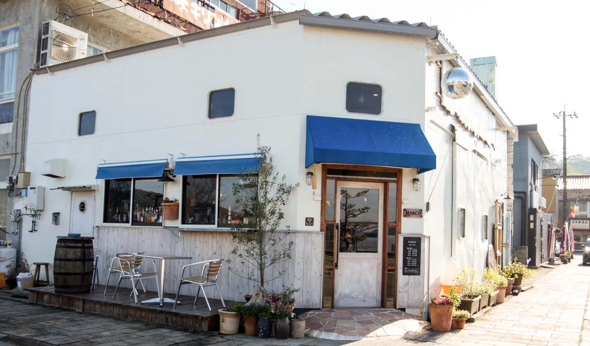 Cafe&Bar Marcoの外観