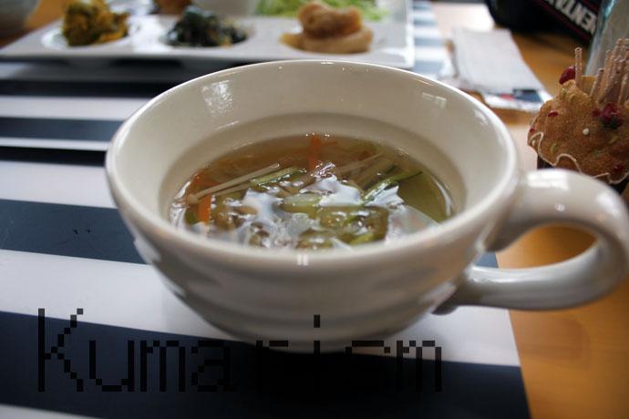 まくろびcafeひよりスープ