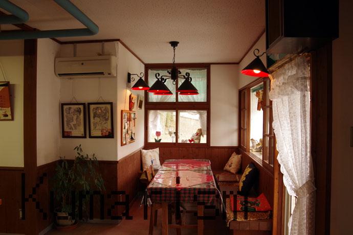 あその時計台の食堂