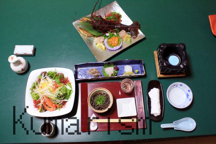 伊賀屋旅館の夕食
