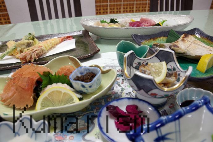 栄美屋旅館 夕食