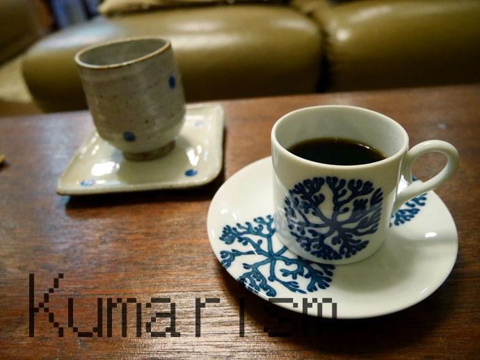 泉屋旅館 コーヒー