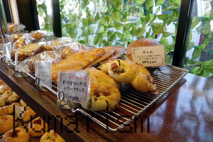 paneの日替わりパン