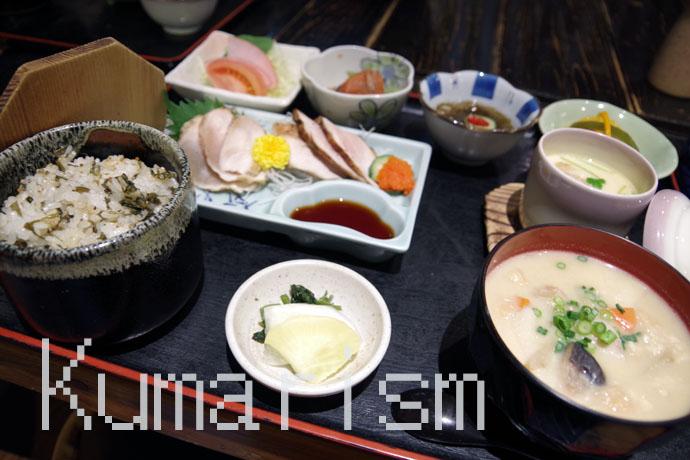 竹の倉山荘 夕食