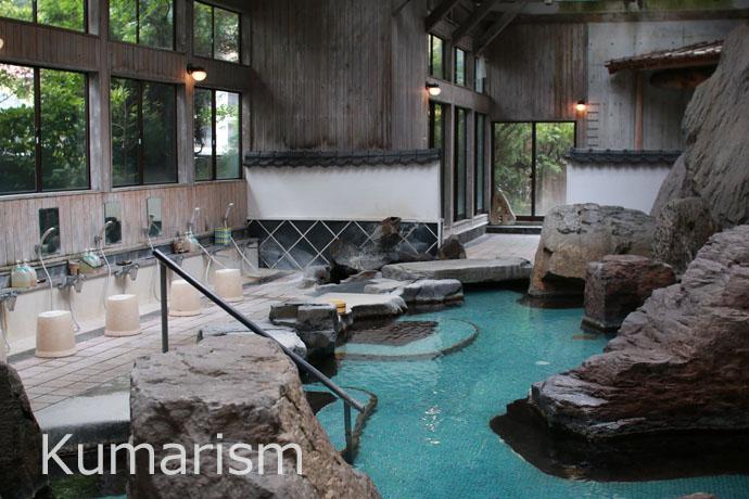 熊本杖立温泉 泉屋 お風呂