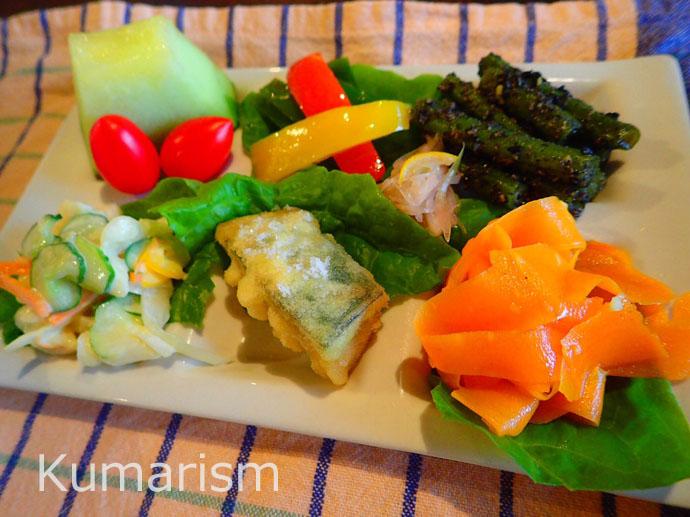 野菜おかずプレート