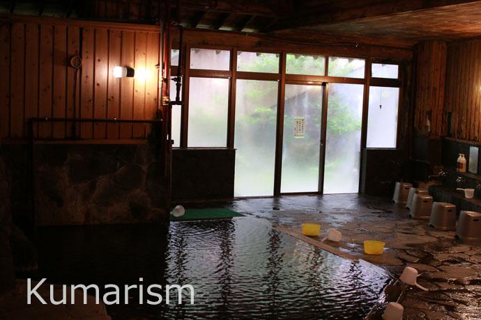 熊本 杖立温泉 蒸し湯