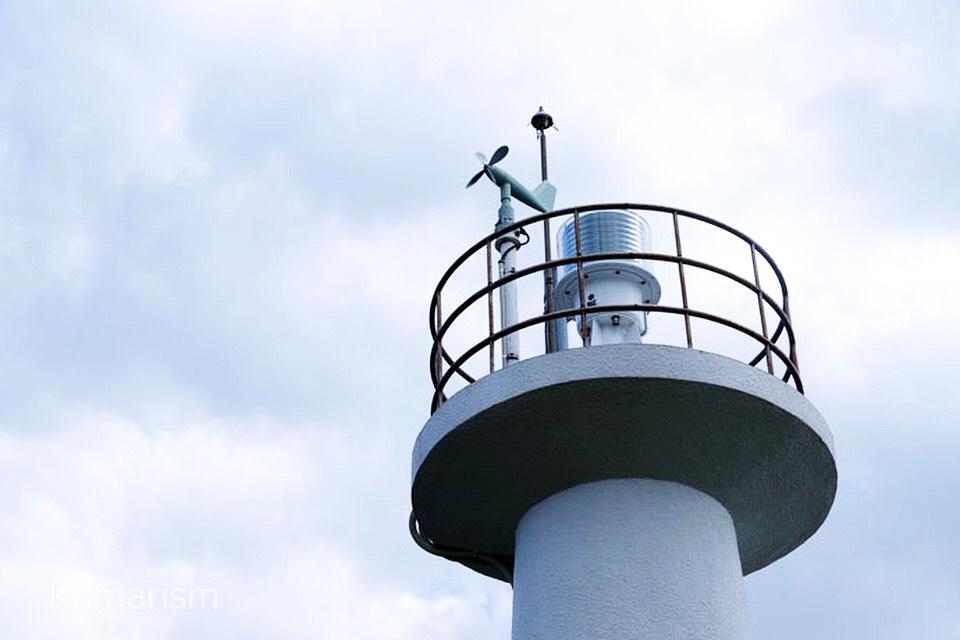 四季咲岬公園にある沿岸灯台