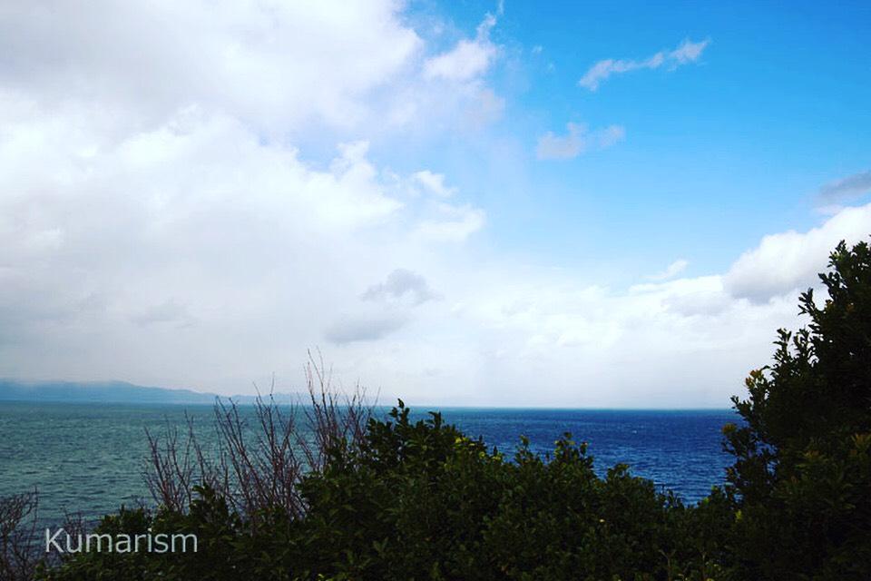 灯台のある場所からの眺め