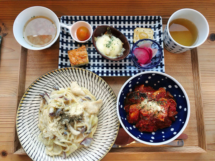 [cafe zakka bb] 北欧風の外観が目印★熊本の菊池にあるカフェ