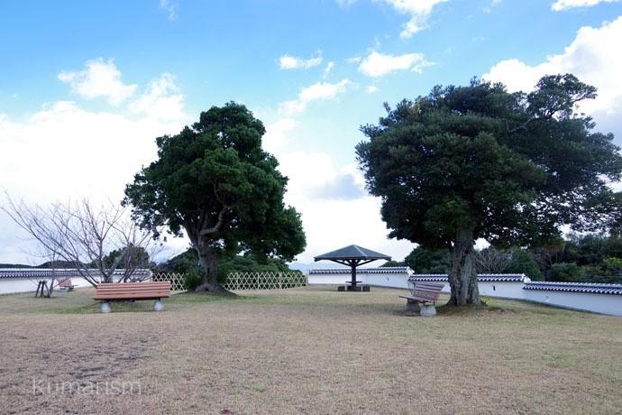 富岡城 二の丸