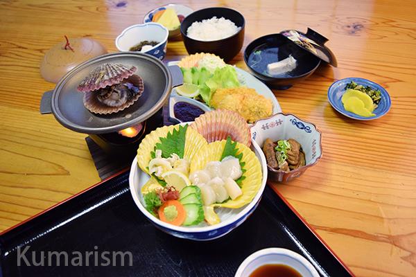 [天草洋] 見て楽しい、食べて美味しい!苓北町名物緋扇貝を食べるならここ!