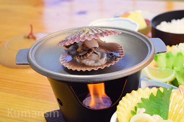 焼き緋扇貝