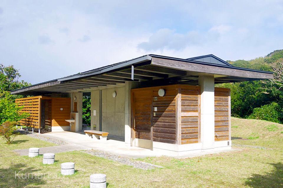 四季咲岬公園 トイレ