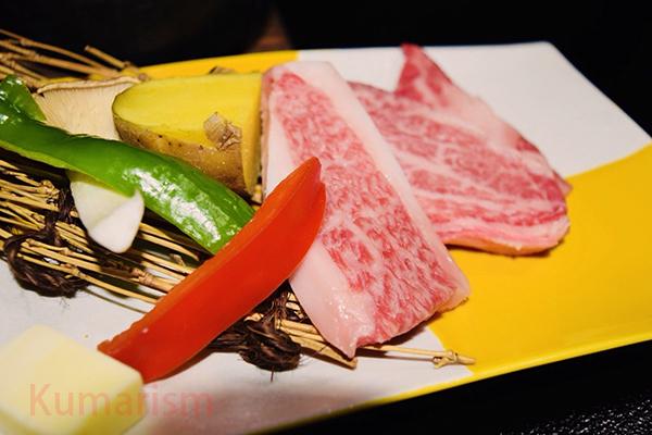 トロトロ!藤彩牛のステーキ[画像]