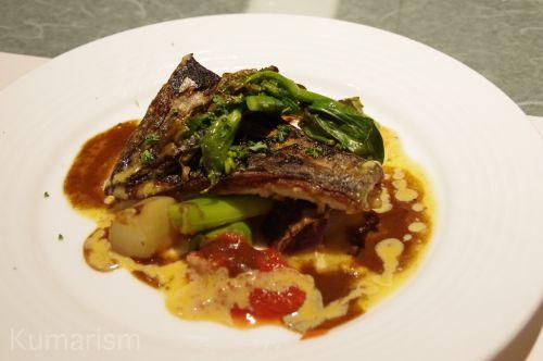 本日の市場より 熊本の新鮮なお魚のムニエル 本日のソース(税込 1680円)