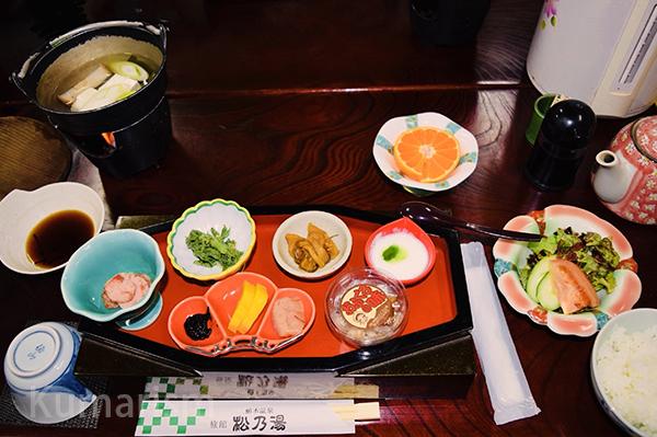 朝から豪華、朝食[画像]