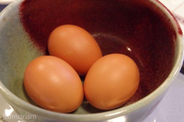 時代の駅むらやくば やまえのまんま 朝獲りの卵