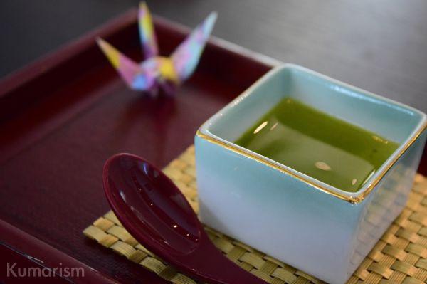 喜寿 緑茶プリン