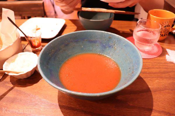 トマトラーメン完食