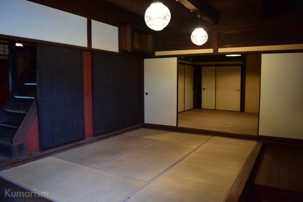 旧高田回漕店の内装