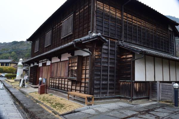 旧高田回漕店の外観