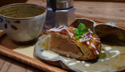 [林檎の樹] 南小国の超お洒落な古民家風カフェで食べる絶品あっぷるパイ