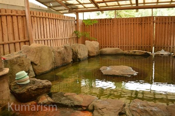 施設内の温泉
