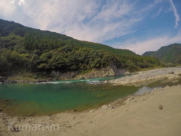 球磨川の写真