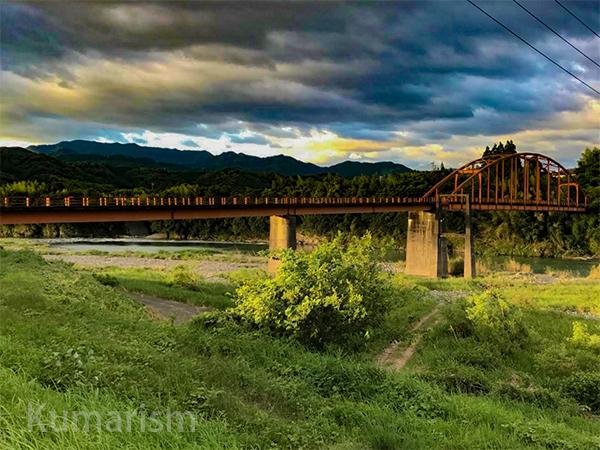 夕方の天狗橋
