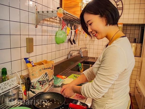 染物と宿の中島屋 料理風景
