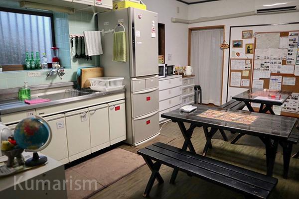 食堂、談話室、キッチン
