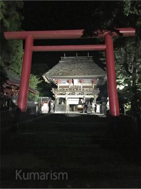 夜の青井阿蘇神社